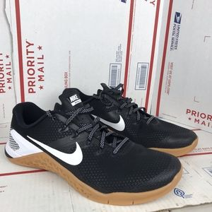 Nike Mens Metcon 4 Black Shoes AH7453-006 Sz 11.5